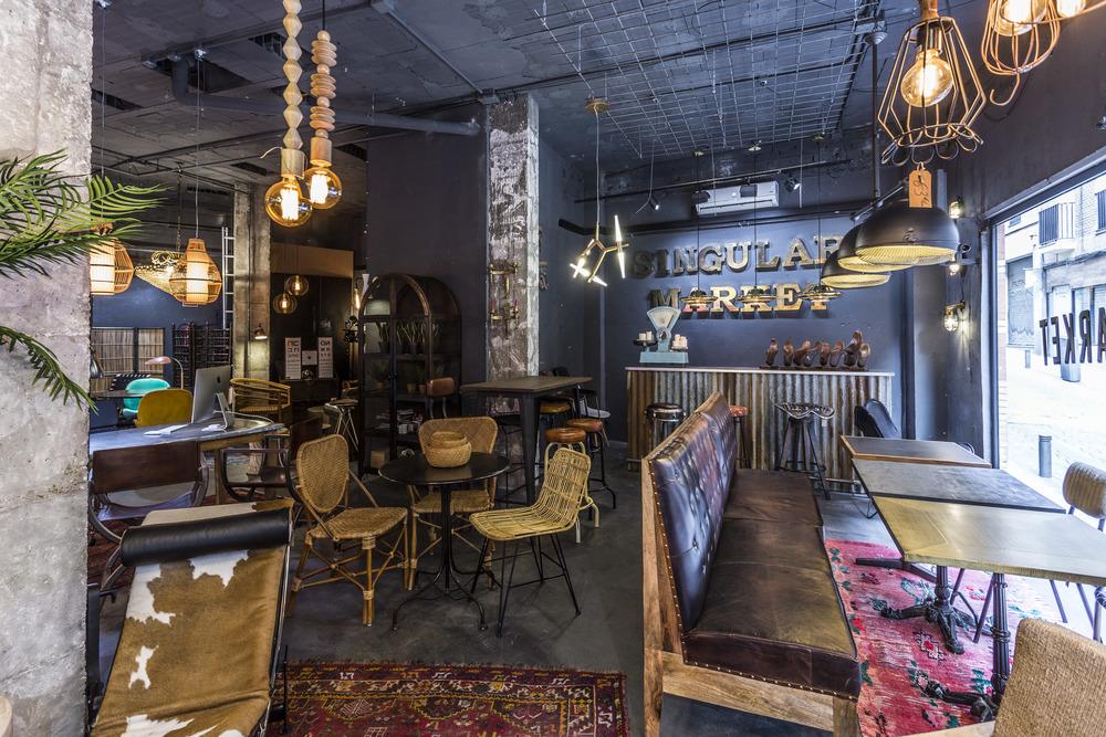 Singular Market: Industrial and vintage style furniture at Madrid Rastro
