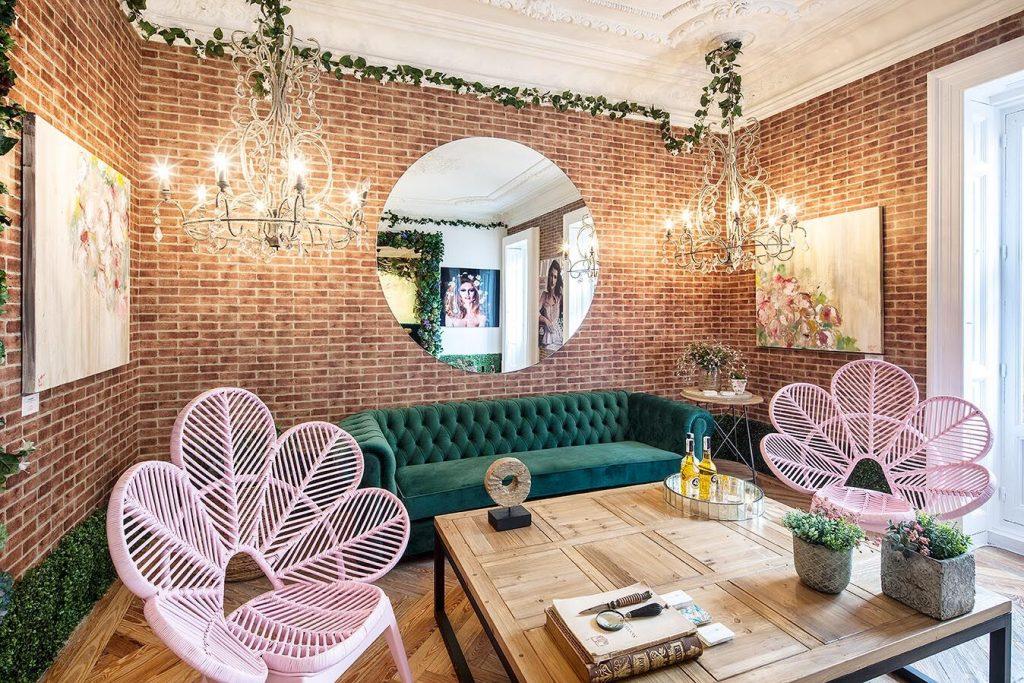 Feminine loft by Santayana for Telva at Casa decor 2018