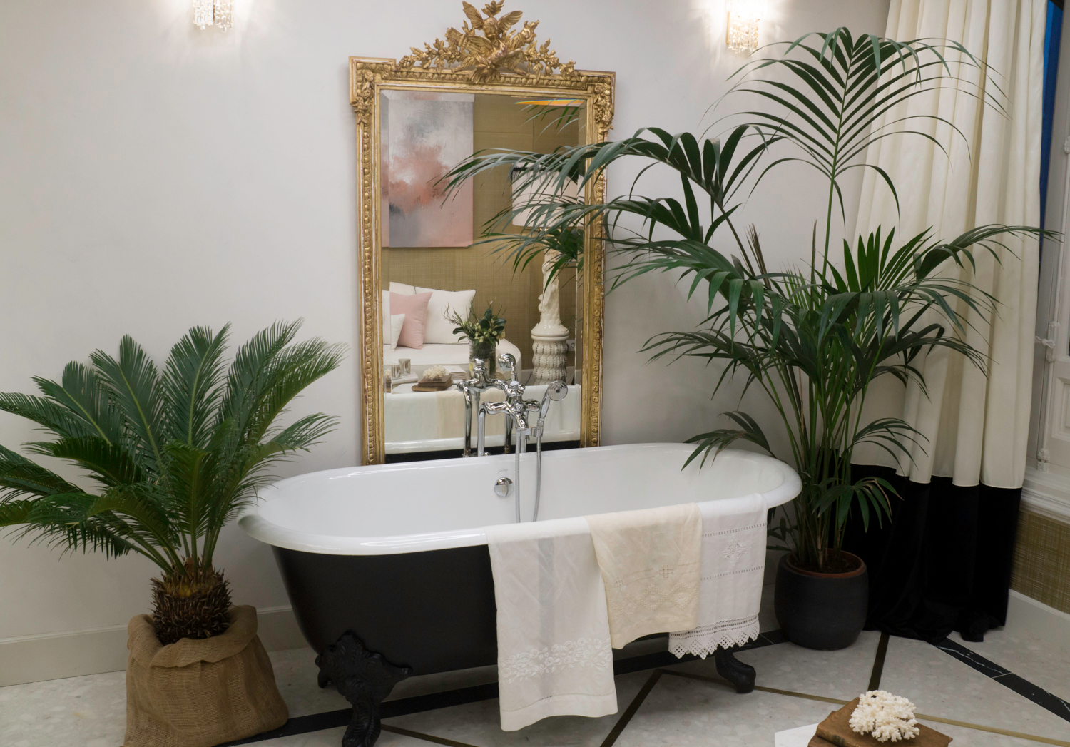 Coco Chanel inspired Public Baths at Casa Decor 2018