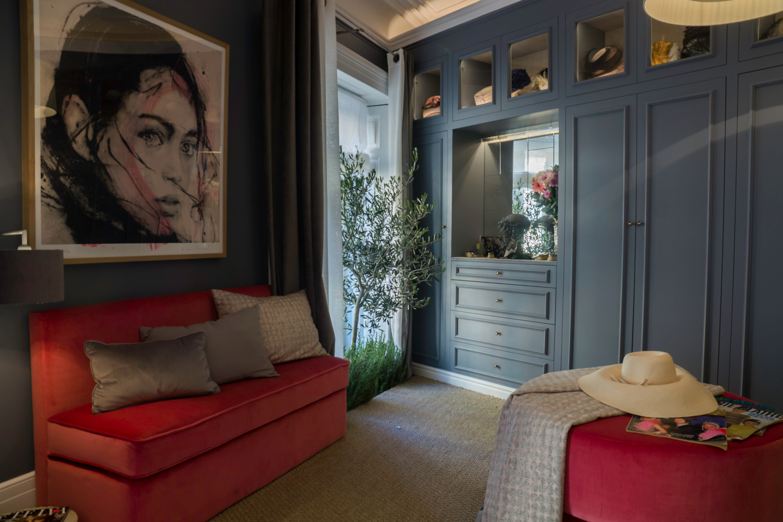 Bedroom with wardrobe by Asun Antó at Casa Decor 2018
