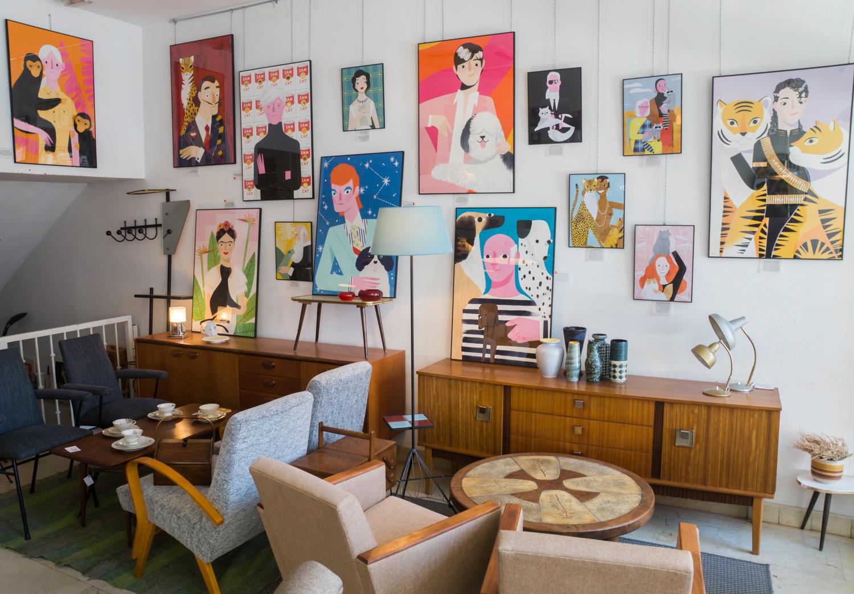 La Recova - antiques shop at Madrid Rastro