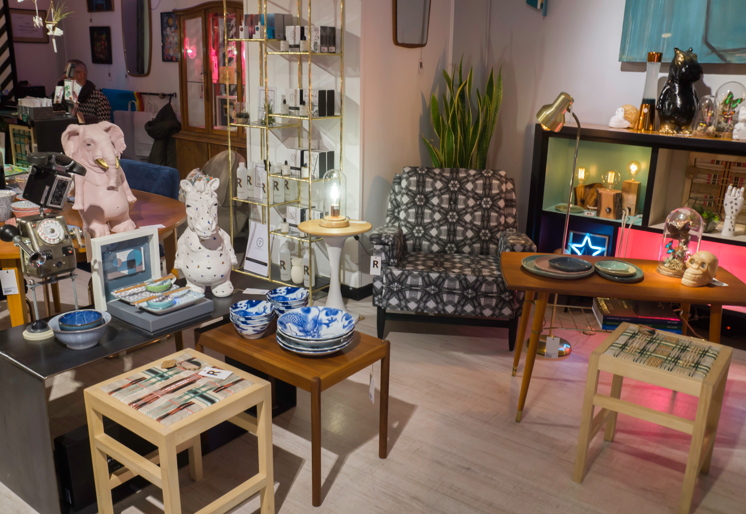Erre Catorce - quirky shop at Madrid Rastro