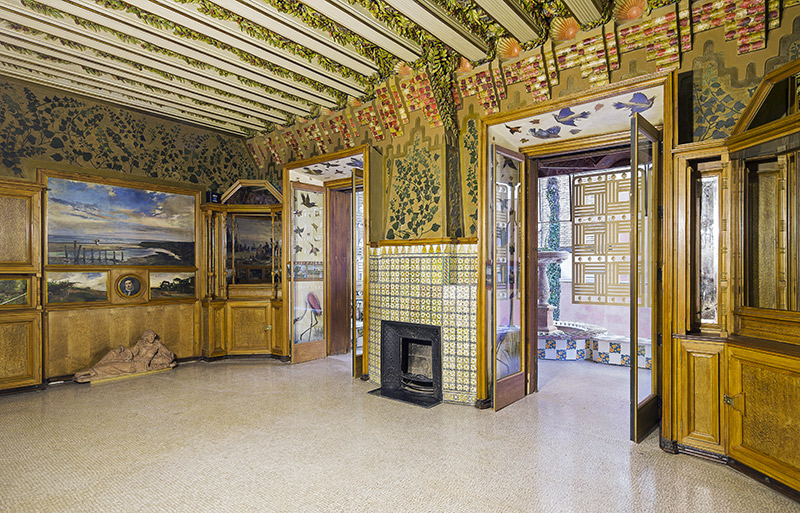 Casa Vicens dining room
