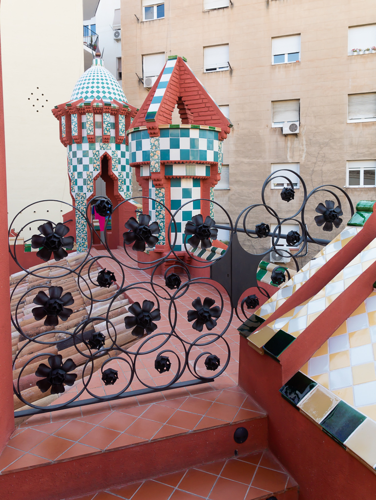 Rooftop, Casa Vicens by Gaudí