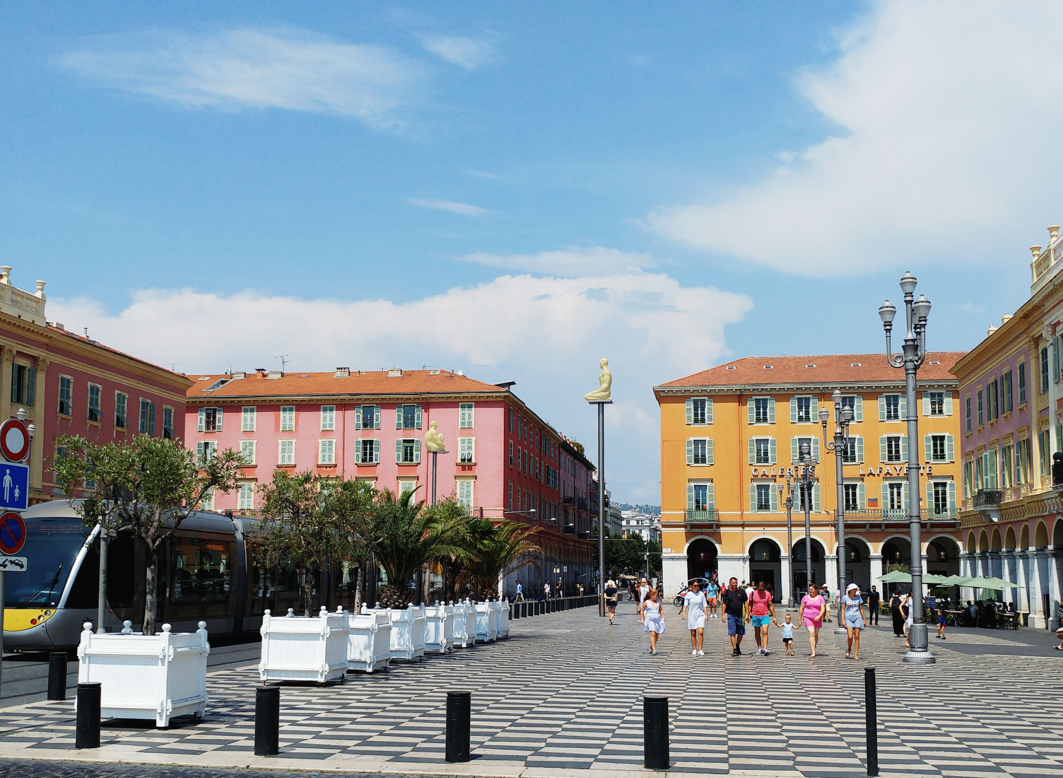 Nice Massena square