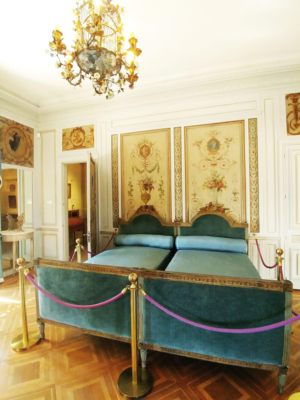 Villa Ephussi de Rotschild interiors