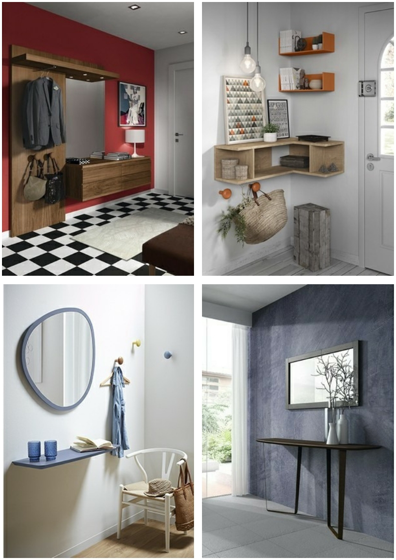 Kibuc entryway furniture: collage