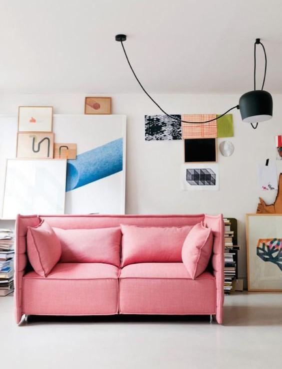 bubblegum pink sofa-1
