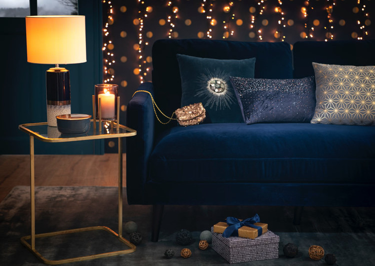 Cosy Blue tendency Maisons du Monde autumn-winter collection 2018