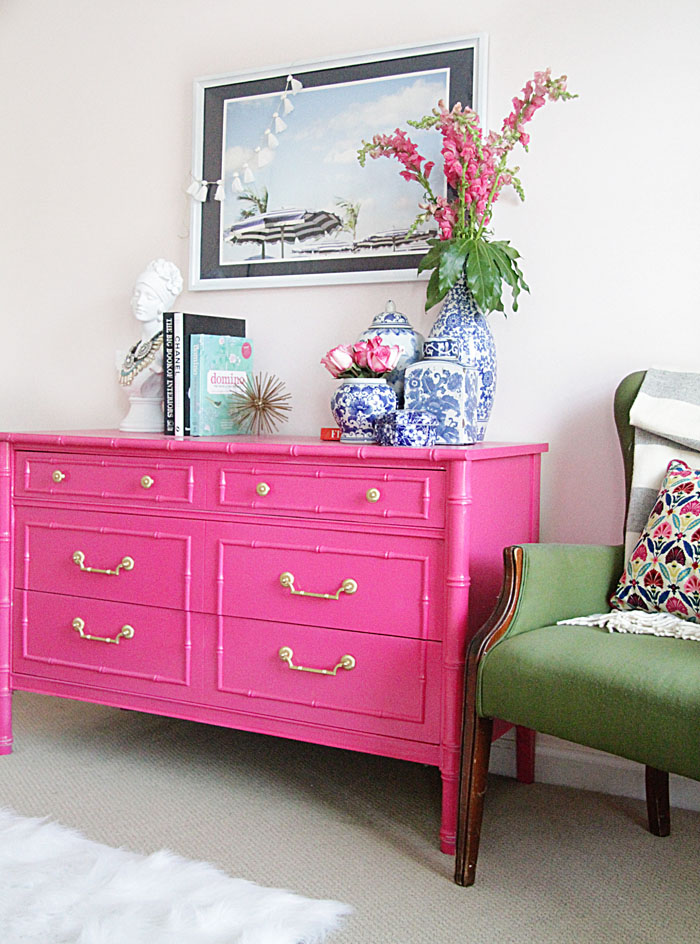 fuchsia chest of drawers
