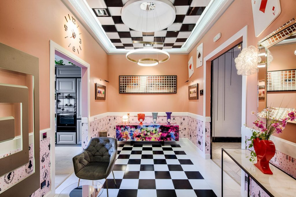 Juan Fuentes 'Alice in Wonderland' inspired space for Jung at Casa Decor 2019, Madrid