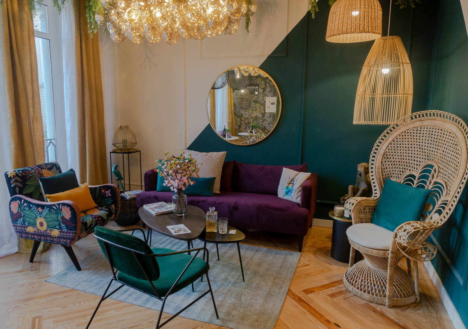 Maisons du Monde dining room at Casa Decor 2019 Madrid