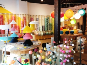 Luciole lamps shop in Madrid´s Chueca