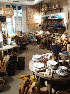 Ofelia vintage home decor shop in Madrid Chueca