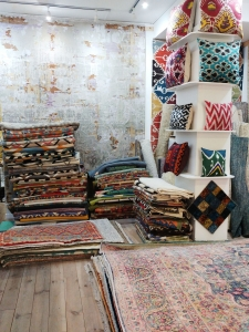 Tailak rug store in Madrid, Chueca