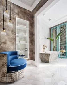 Casa Decor 2019: bathroom designed by Miguel Muñoz for Geberit