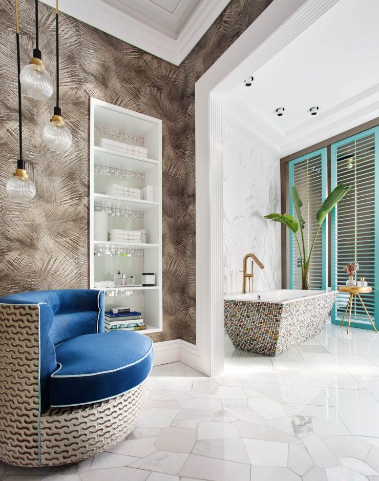 Casa Decor 2019: bathroom designed by Miguel Muñoz for Geberit