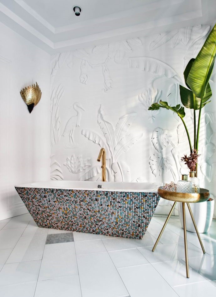 Casa Decor 2019 bathroom designed by Miguel Muñoz for Geberit
