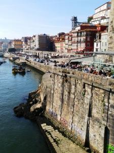 Porto La Ribeira view from the bridge