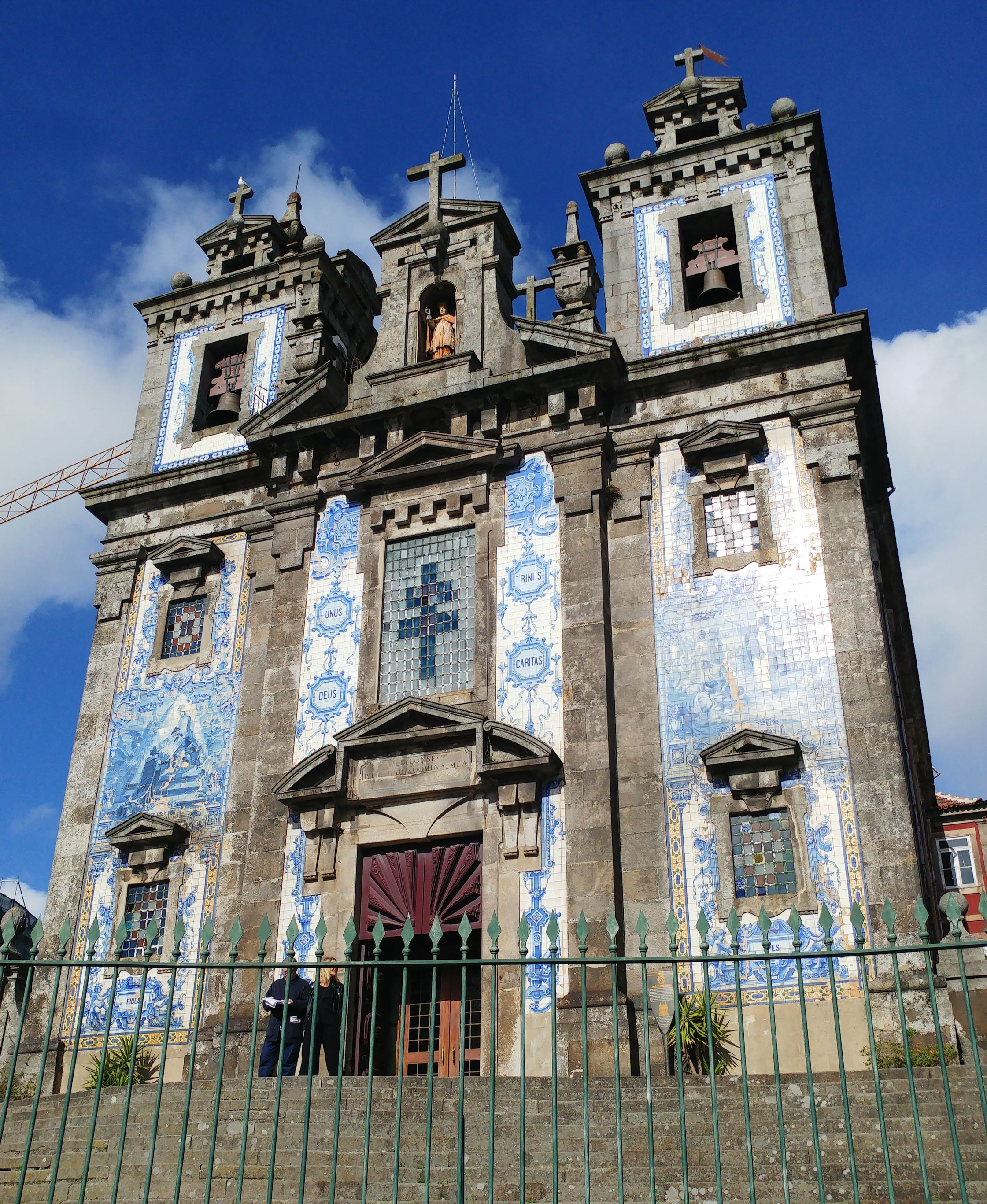 Porto church azulejos