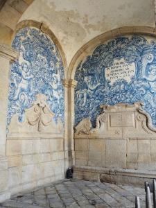 Porto cathedral azulejos