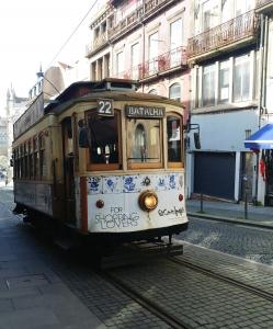 Porto historical tram