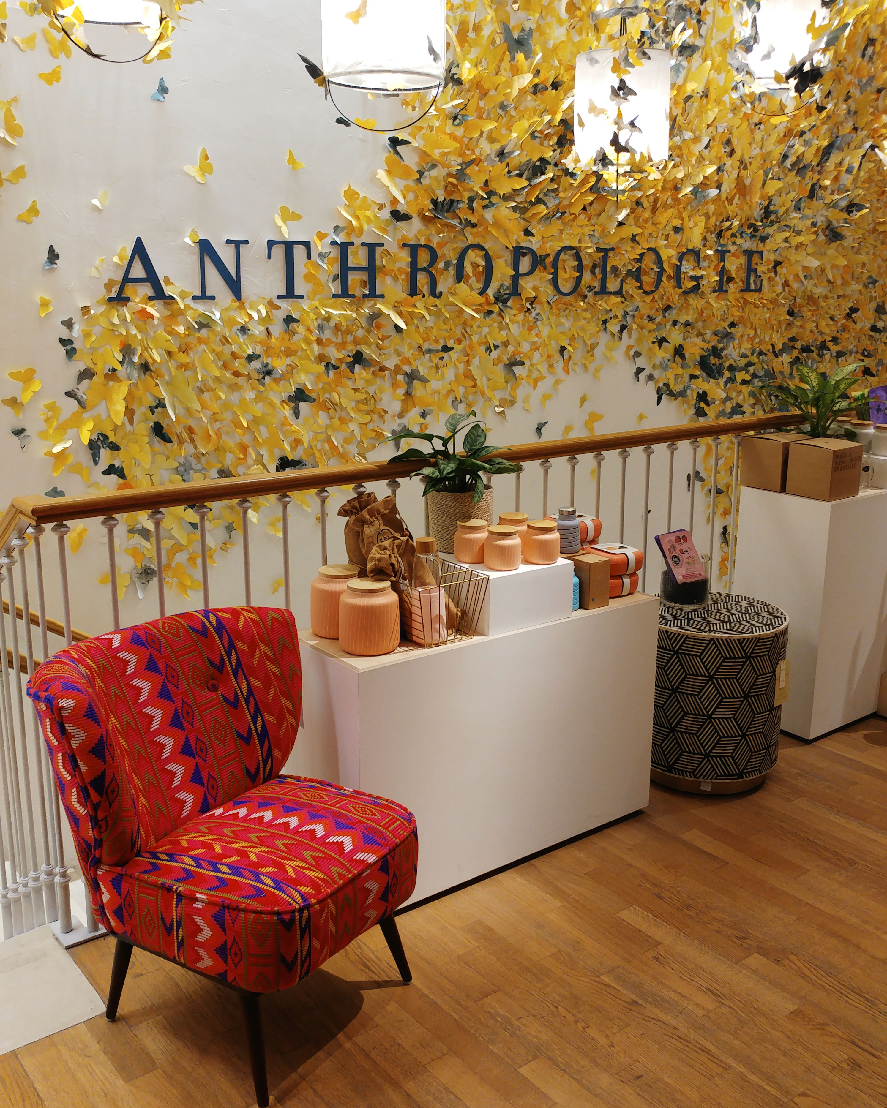 Anthropologie shop in Barcelona