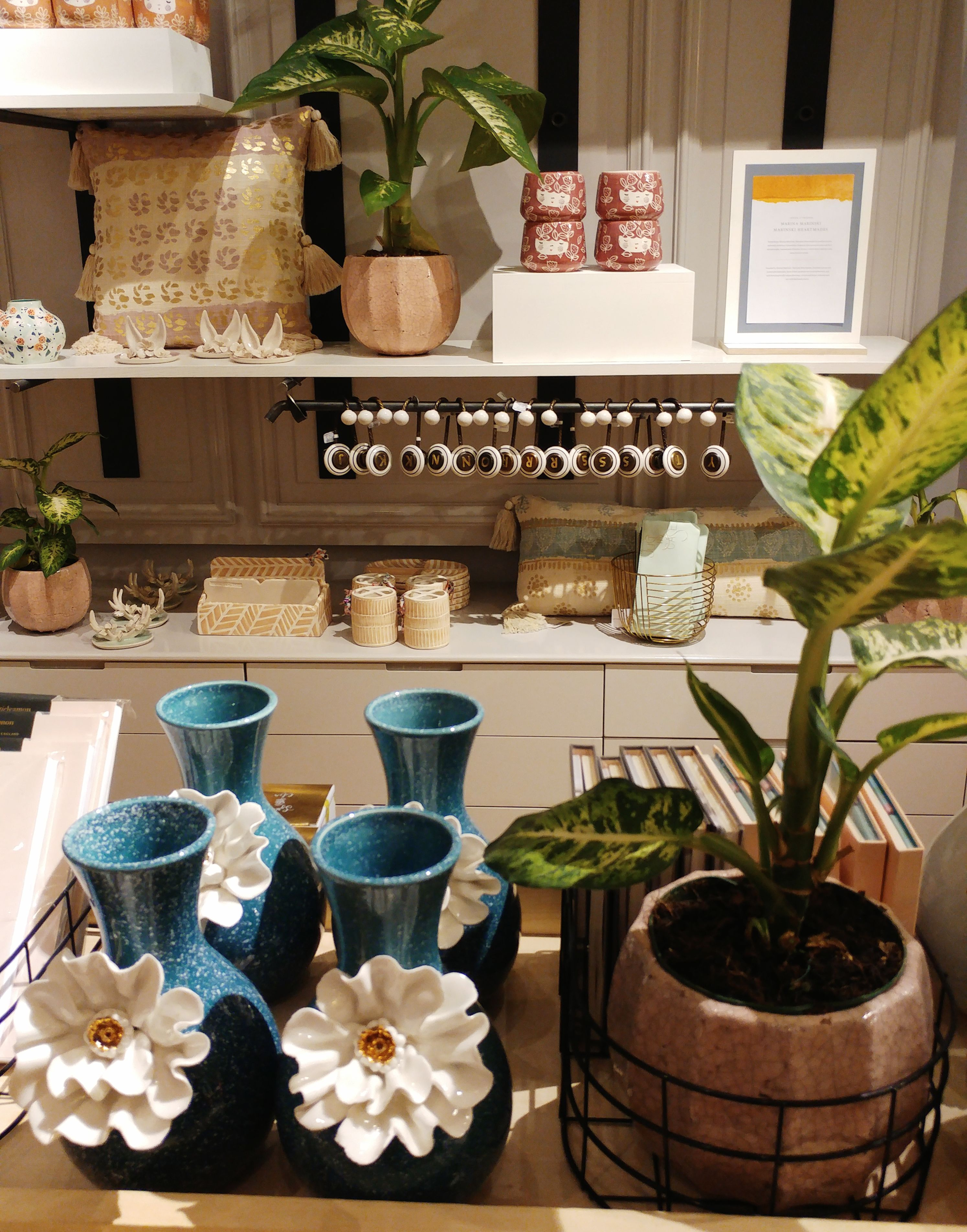 Anthropologie shop in Barcelona - ceramics