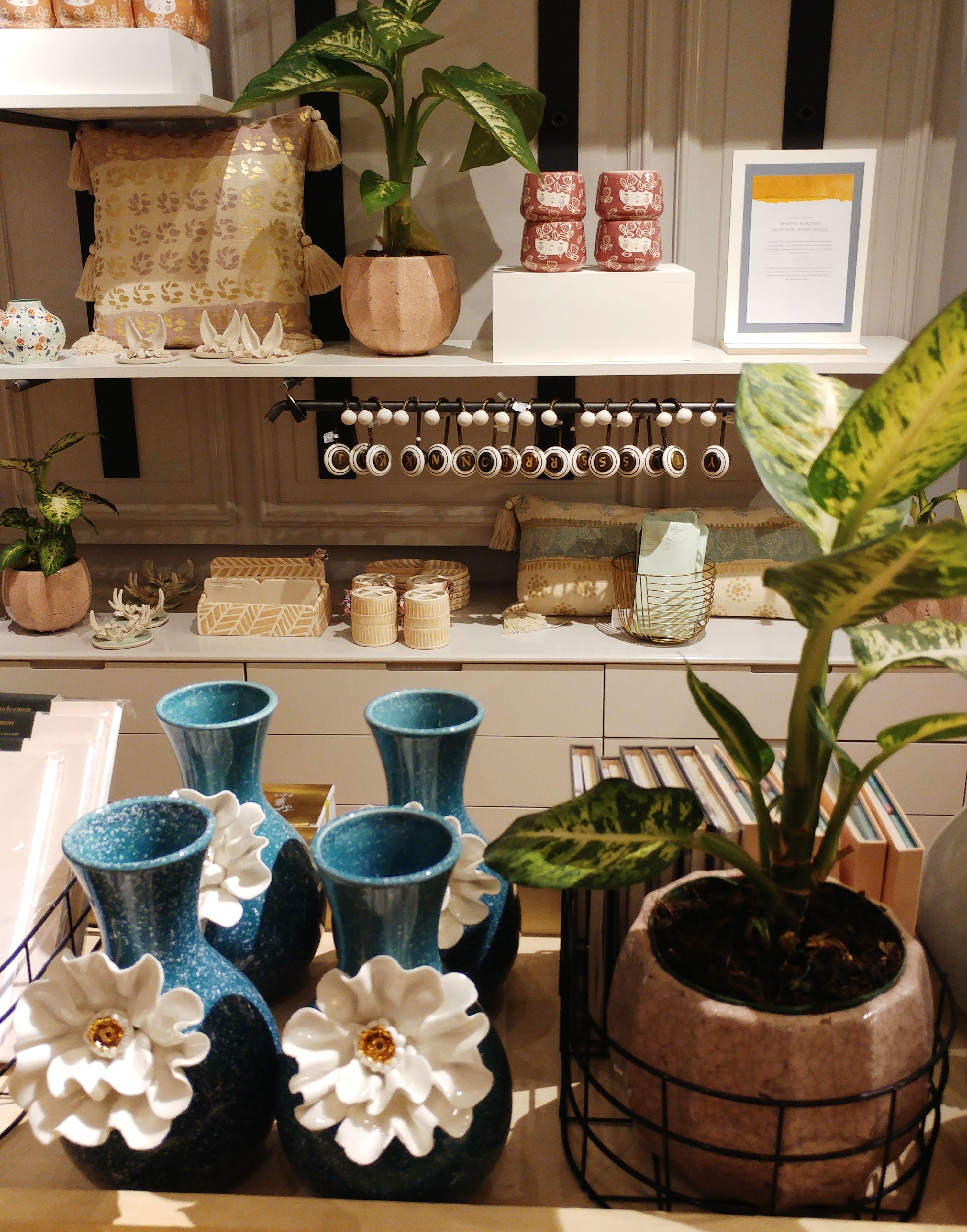 Anthropologie shop in Barcelona - ceramics