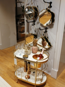 Anthropologie shop in Barcelona - eclectic luxury