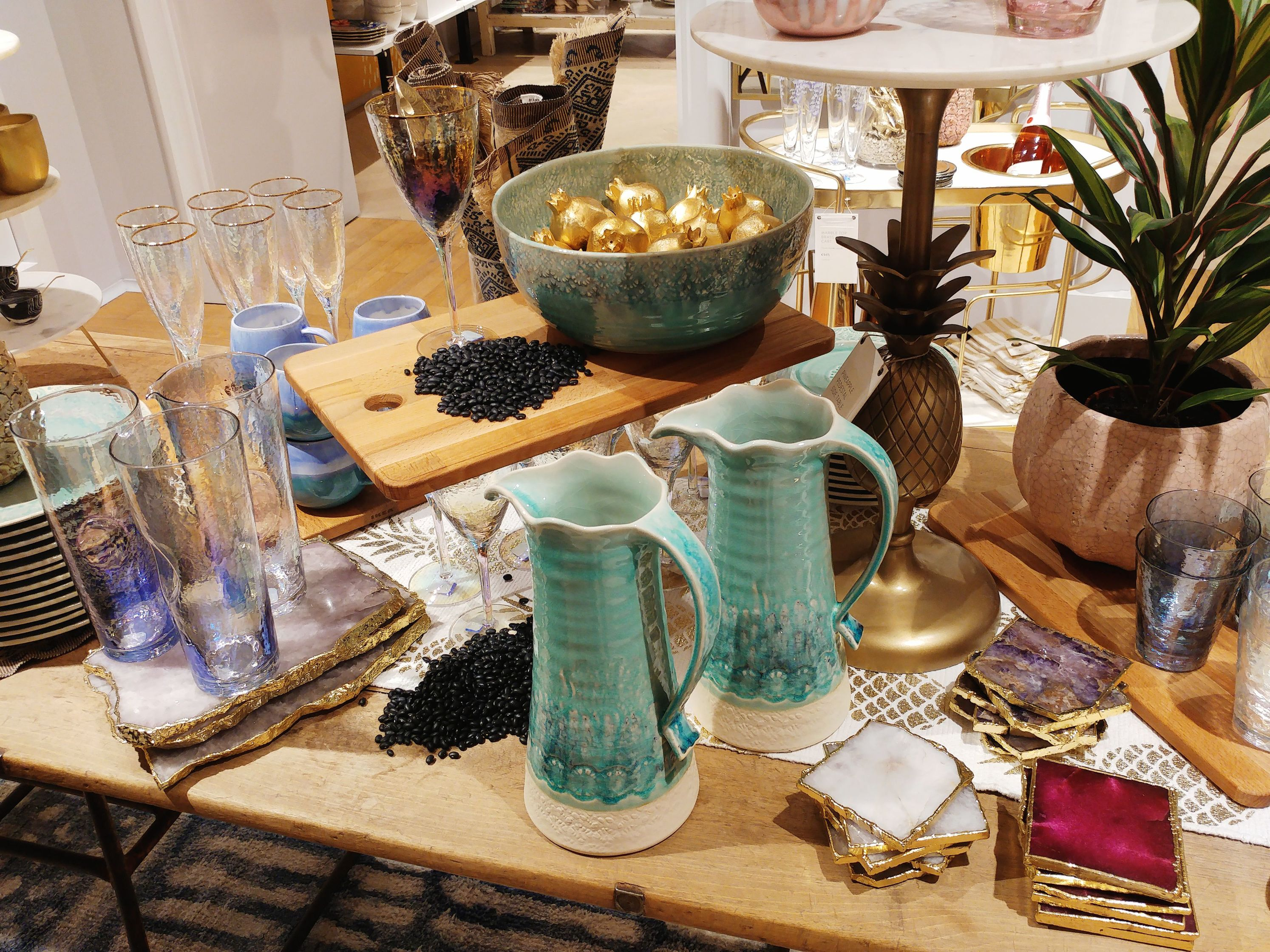 Anthropologie shop in Barcelona - home decor