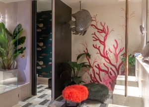 Casa Decor 2019 bathroom by Blanca Hevia for Miapetra