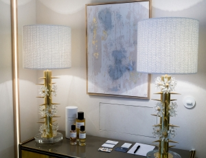 Murano glass vintage lamps at Casa Decor 2019