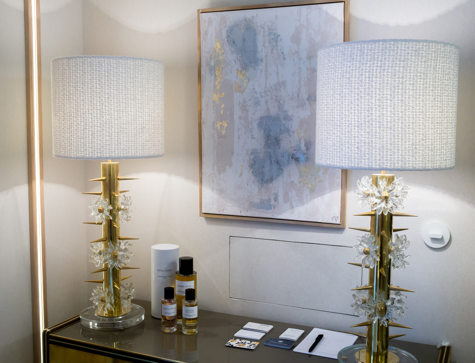Murano glass vintage lamps at Casa Decor 2019