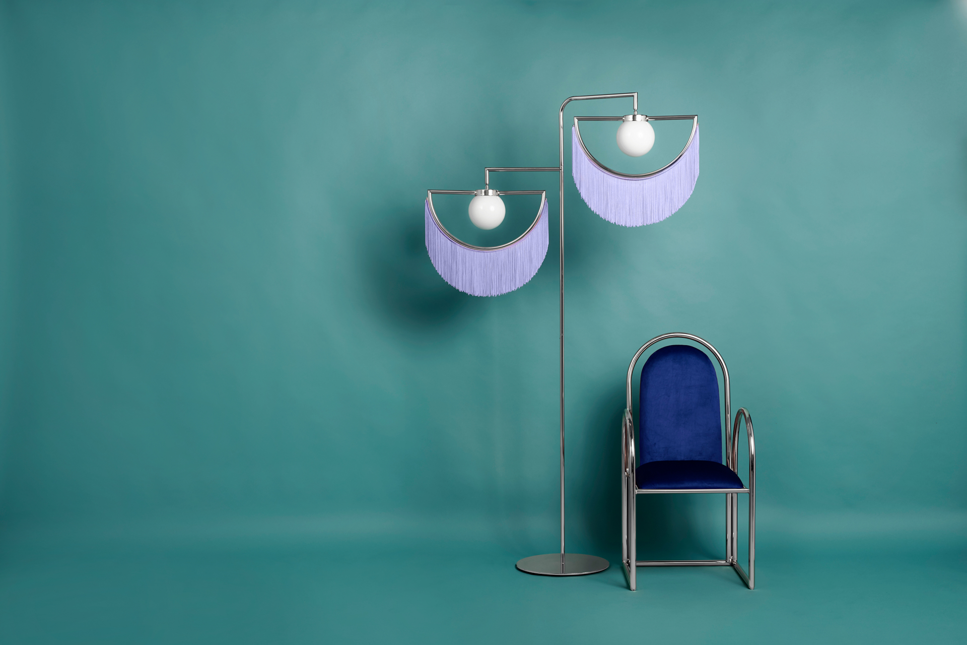 Arco Houtique lamps by Masquespacio