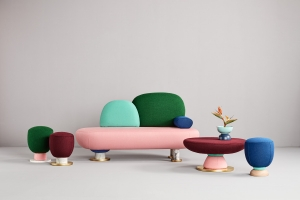 Toadstool collection for Missana by Masquespacio