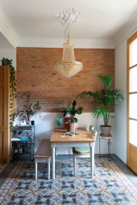 Gemma home tour dining table