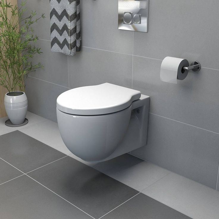 Wall-hung toilet - bathroom design trends