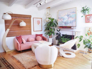 @candycoloredhome living room