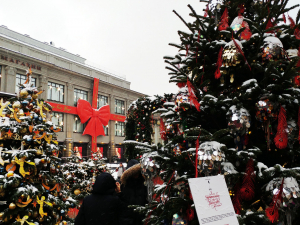 Christmas in Moscow: TSUM