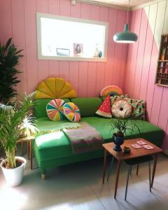 @polkadotingrid bohemian retro house in Norway