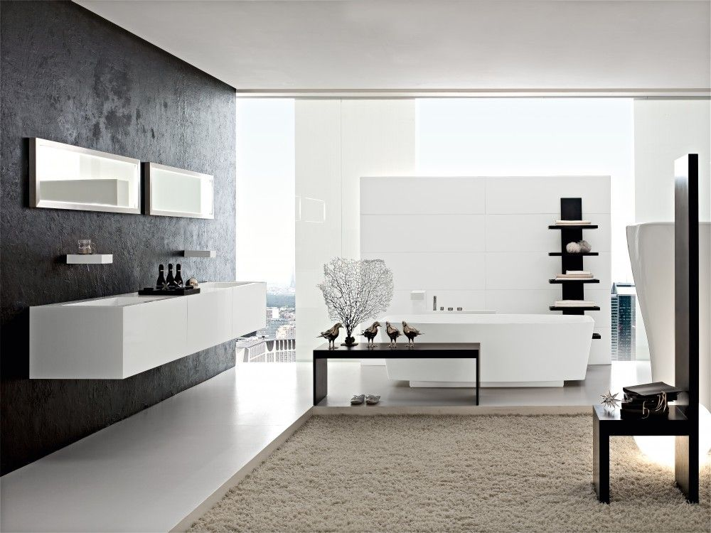 Ultramodern Italian bathroom trends