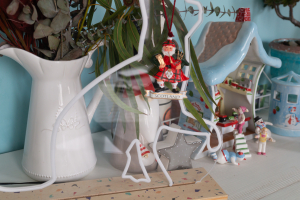 Christmas decor from Scotland and Villeroy & Boch 'Santa's Toy Factory'