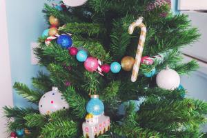 My Christmas tree decorations