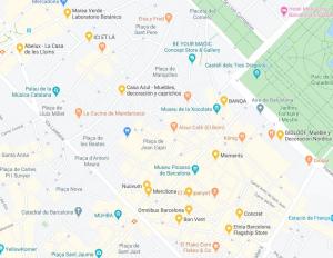 Barcelona Born design map