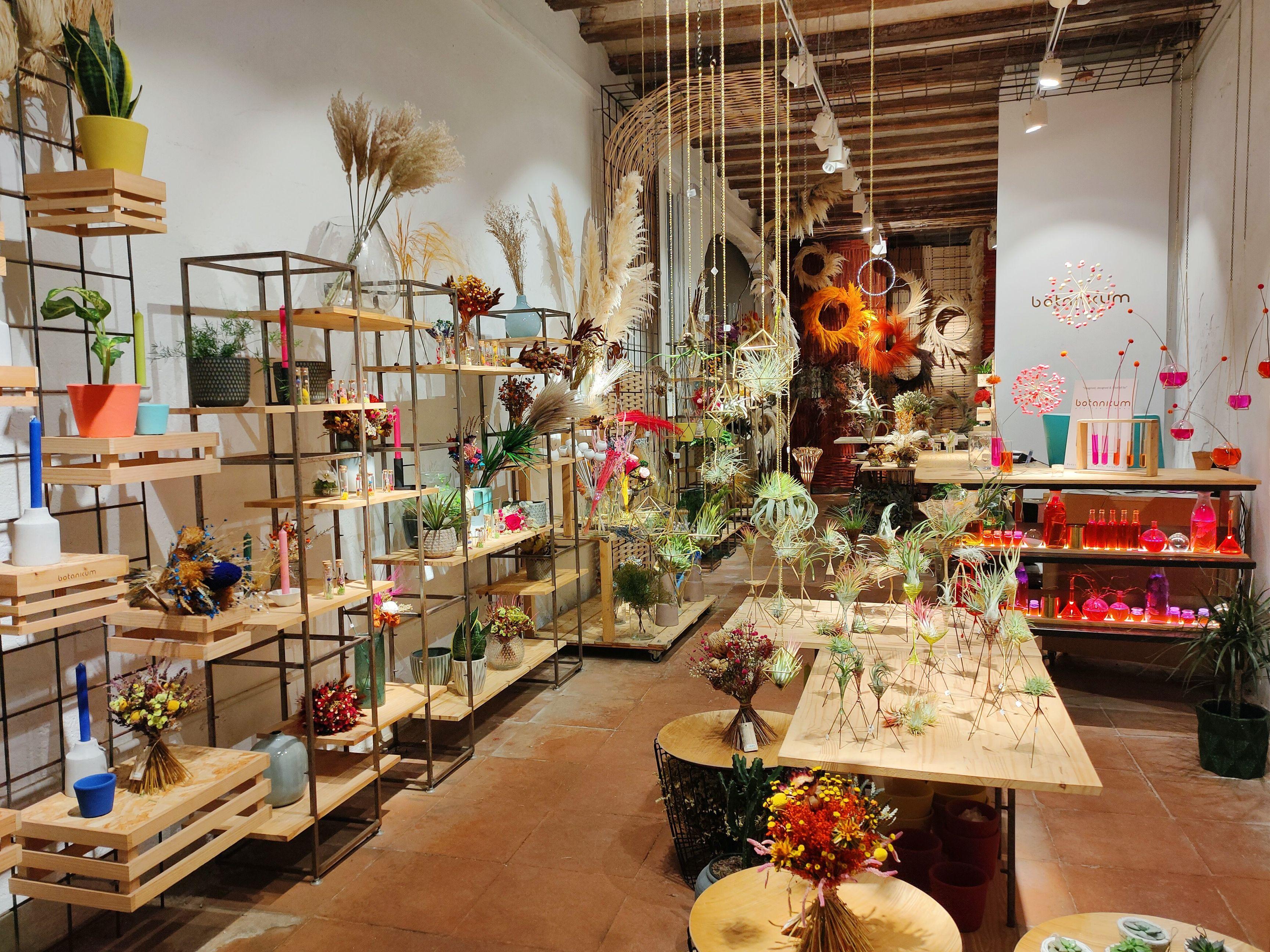 Botanicum atelier floral in Barcelona