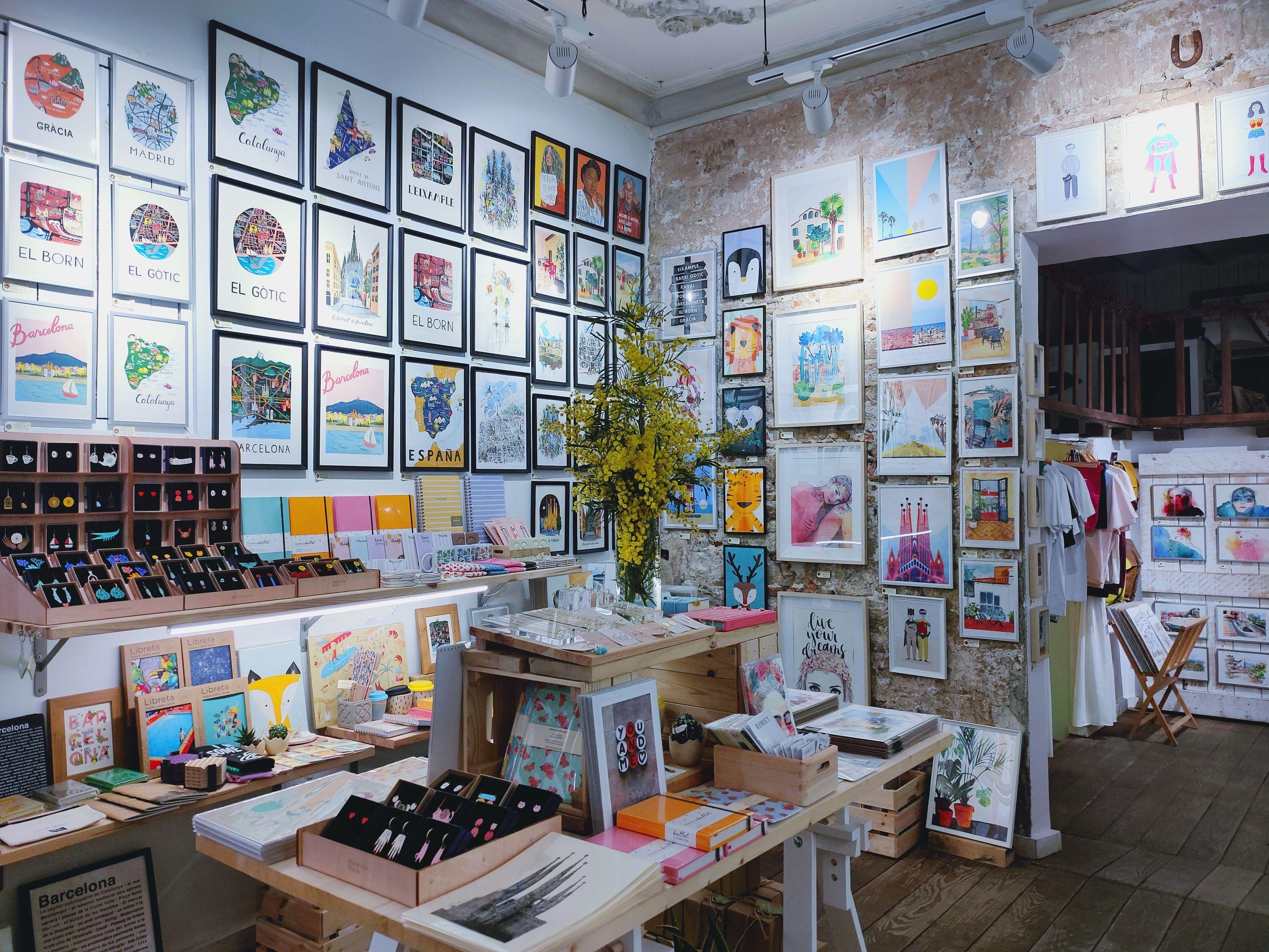 Mercilona shop in el Born, Barcelona