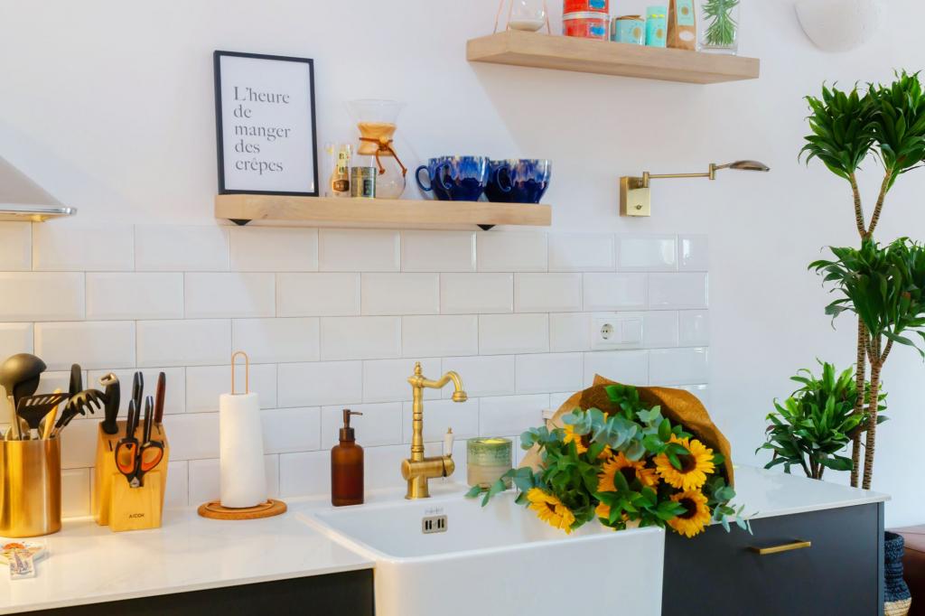 Gracia Home Tour kitchen